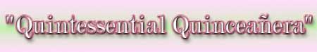 Quintessential Quinceanera Logo